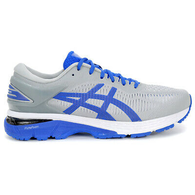 ASICS Men's GEL-Kayano 25 Lite-Show Mid Grey/Blue Shoes 1011A204.020 NEW