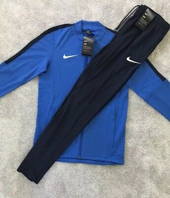 Mens Nike Dry 16 Knit Track Top FZ Jacket & Bottoms Tracksuit SET Ltd Casual Gym