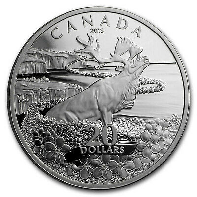2019 Canada 1 oz Silver $20 Forget-Me-Not - SKU#195422