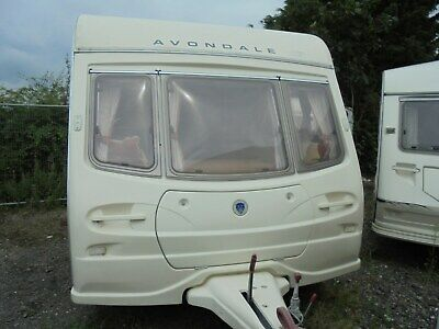 2003 AVONDALE LUX TOURING CARAVAN ONE OWNER FROM NEW £1999 trade sold as seen
