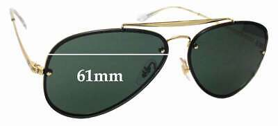 SFx Replacement Sunglass Lenses fits Ray Ban RB3584-N- 61mm wide