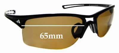 SFx Replacement Sunglass Lenses fits Adidas Raylor L A405 6050 - 65mm wide