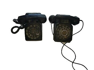 Vintage ITT Stromberg-Carlson & Western Electric Black Rotary Dial Phone