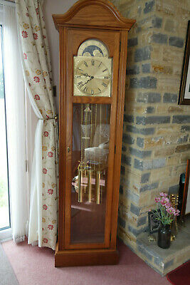 Ridgeway Grandfather Clock With Owner Manual