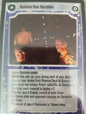 Tatooine Celebration SWCCG Star Wars CCG Special Edition SE