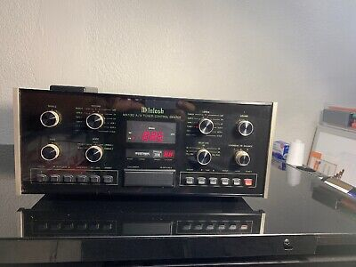 McIntosh MX130 AV Tuner Control Center Preamp With Remote