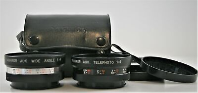 Yashica Tele Photo Lens Kit Wide Angle And Tele Photo With Case And View Finder