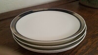 """s Mikasa Bone China SOLITUDE A5-166 Dinner Plate 10 1//2/"""" EXCELLENT"""