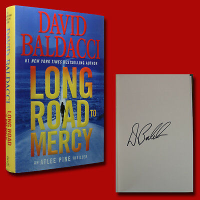 Long Road To Mercy by David Baldacci (2018,HC,1st/1st) SIGNED BRAND NEW