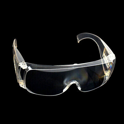 Lab Anti Fog Transparent Vented Safety Eyes Protection Protective Glasses