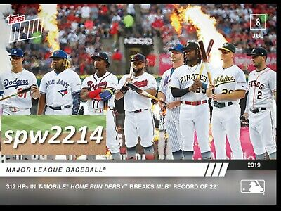 2019 Topps Now Home Run Derby Record #489