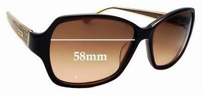 SFX Replacement Sunglass Lenses fits Coach Beatrice 58mm Wide
