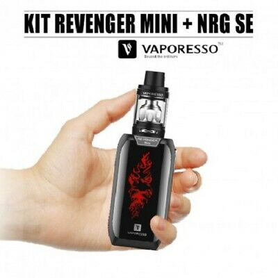 Cigarette électronique Kit Vaporesso Revenger Mini Noir + 1 Kit Diy 60ml