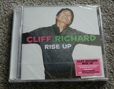 Cliff Richard - Rise Up 16-Track CD 2018, brand new and sealed