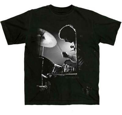KEITH MOON Backlit Drummer T SHIRT S-M-L-XL-2XL New Official Hi Fidelity Merch