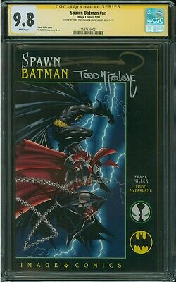Spawn-Batman #NN CGC SS 9.8 2x Todd McFarlane and Frank Miller Signature Series