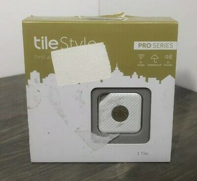 Tile Style Pro Series 1-pack White Brand New In Sealed Box
