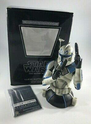 Star Wars Clone Captain Rex Collector's Club Exclusive Gentle Giant Mini Bust