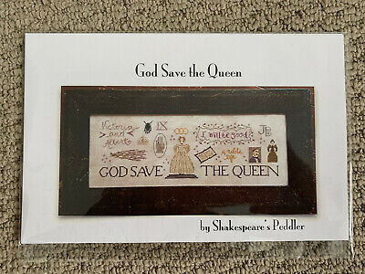 Shakespeare's Peddler - God Save the Queen -- Cross Stitch Pattern/Chart
