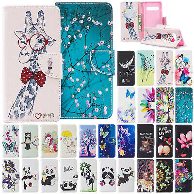For Samsung Galaxy A70 A50 A30 A10 Case Magnetic Flip Leather Stand Wallet Cover