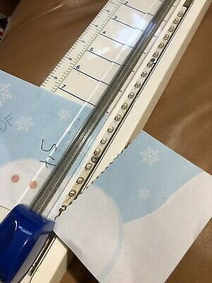 Paper Cutter With Changable Designs Lighted Measuring Board Scrapbooking