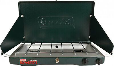 Portable Propane Gas Classic Stove with 2 Burners Outdoor Camping Survival