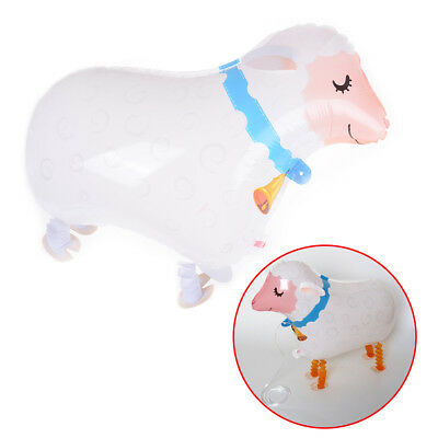 Cute Walking Balloon Pet Cute Sheep Helium Balloon Kids Toy Party Decoration#