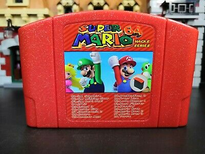 Super Mario 64 Hacks Series 18 in 1 Games N64 Multi-cart NTSC-U/C version