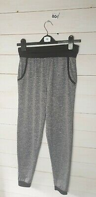 Girls sports trousers Age 12-13 grey