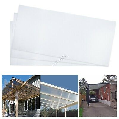 WestWood 4MM Polycarbonate Sheet 14PCS Greenhouse Panels Solid Glazing Clear