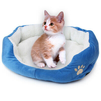 Pet Dog Bed Puppy Cushion House Soft Warm Kennel Mat Blanket Washable Kitten Pad