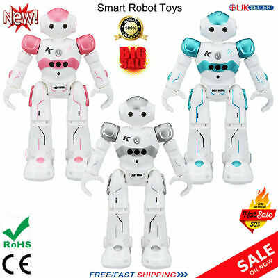 Kids Funny RC Smart Robot Toy Remote Control Interactive Dancing Singing Walking