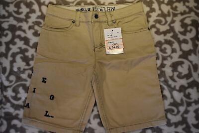 Boys Desigual Kids Rorcual Short Slim Fit Beige Chino Shorts age 9 / 10 years #1