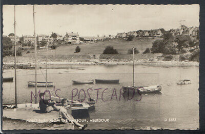 Scotland Postcard - Home Park From The Harbour, Aberdour   RS15470