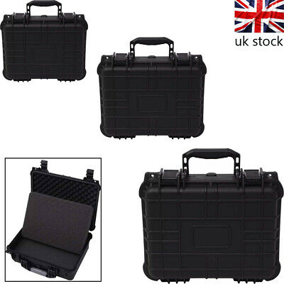 Hard Case Box Bag Camera Photography Travel Protective Waterproof Universal UK