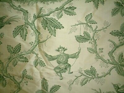 Colefax & Fowler Fabric Chinese Toile - Stunning Silk