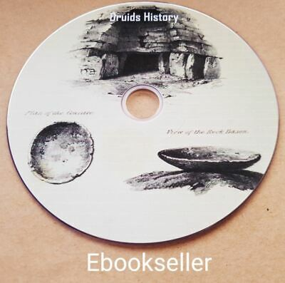 History pdf ebooks genealogy of the Druids in  50 kindle files ebooks on a disc