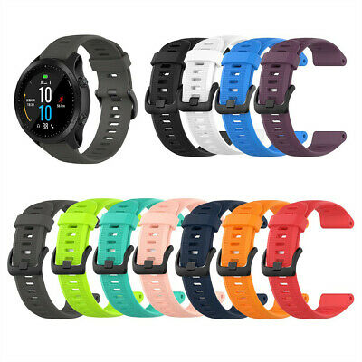 Silicone Band Replacement Wrist Strap For Garmin Forerunner 945/935/Fenix 5/Plus