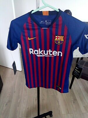 Kids Nike Barcelona Home football shirt 2018-2019 Size S