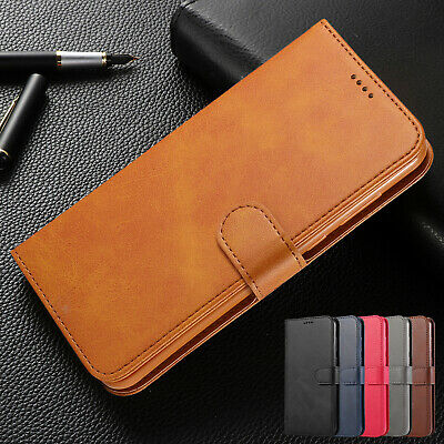 For Samsung S10 5G S9 Plus Case Note 9 S7 S6 Leather Wallet Magnetic Flip Cover