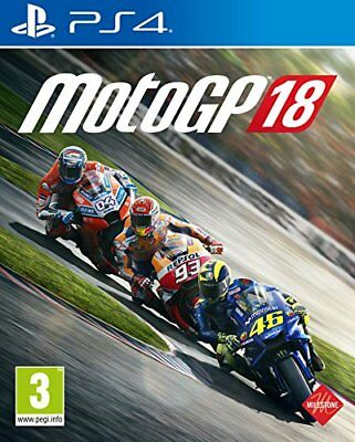 Moto GP 18 (Sony PlayStation 4, 2018)