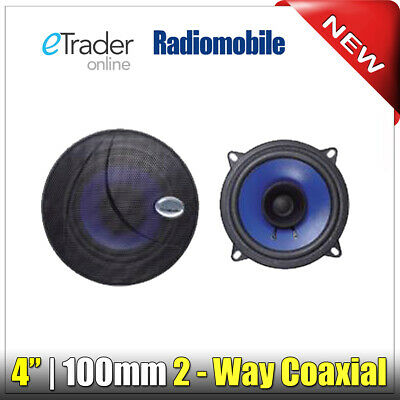 "4"" Speakers 40W 4 Inch 10cm Ideal For Caravan Speaker PAIR Cheap Dual Cone"