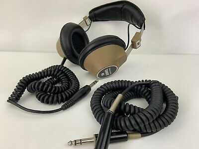 RARE Vintage Tandy 40 Hi-Fi Stereo Headphone By Realistic + Extension