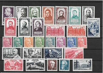 France Annee Complete 1948 Du N° 793/822 Neuf Sans Charniere+++++++9,95€++++++++