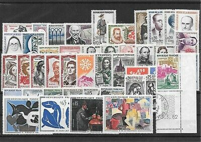 France Annee Complete 1961 Du N° 1281/1324 Neuf Sans Charniere+++++++10,95€+++++