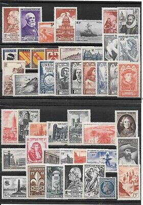 France Annee Complete 1946/47 Du N° 748/92 Neuf Sans Charniere+++++++9,95€++++++