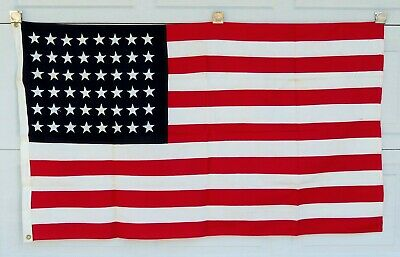 Vintage Abbot 48 Star 3'x5' American Flag used by 20th Century Fox (#108-21)