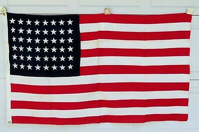 Vintage Abbot 48 Star 3'x5' American Flag used by 20th Century Fox (#108-16)