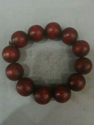 Collection Chinese Exquisite Ox horn Hand-carved Ox horn beads Bracelet