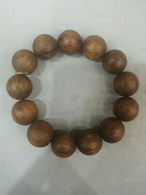 """0.71"""" Collection Chinese Exquisite Ox horn Hand-made Ox horn bead Bracelet"""